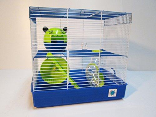 Penthouse - Jaula de hámster grande para animales pequeños, de2y 3 pisos
