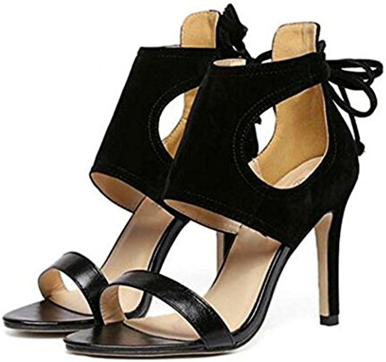TGKHUS Sandalias, Señoras, Corbata, Pez, Zapatos
