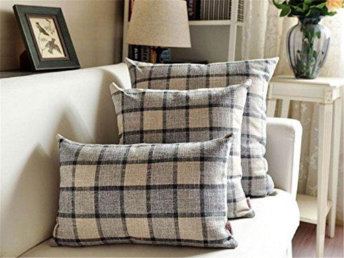 Divano piazza decorativo cuscino / cuscino / più dimensioni , gray , (Miller Cuscino Decorativo)
