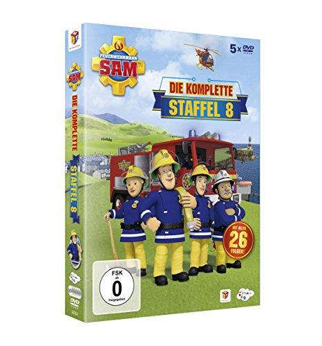 feuerwehrmann sam die komplette staffel Feuerwehrmann Sam - Die komplette Staffel 8 [5 DVDs]