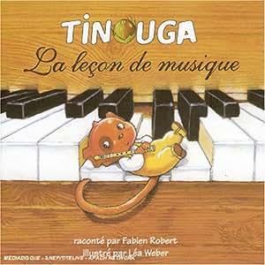Tinouga - La Leçon de musique (CD-Livre)