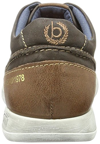 Bugatti K19015, Sneakers Basses Homme Marron (Dunkelbraun 610)
