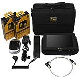 Ikan Saga S7H High Bright Monitor Deluxe Kit for Nikon EL15 Series Black (S7H-DK-N)