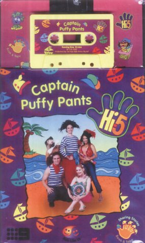 Hi 5 Captain Puffy Pants Book & Tape (Hi5 Book & Tape)