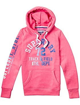 Superdry Track & Field Hood, Sudadera para Mujer