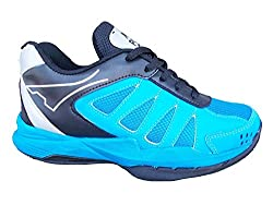 Port Mens DOTPRO Shnider Blue PU Walking Shoes (Size 9 IND/ UK)