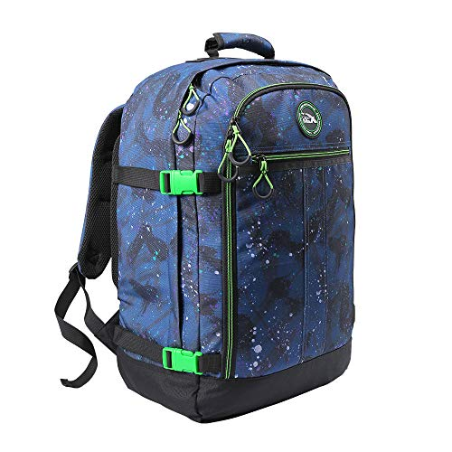 Cabin Max Backpack Flight Approved Carry On Bag Massive 44 Litre Travel Hand Luggage 55x40x20 cm (Reef)