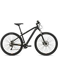 "Orbea MX 20Bicicleta de montaña tamaño 29"" o 27,5"", color negro y naranja, tamaño 29 - M (43)"