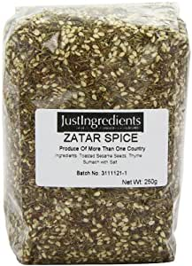 JustIngredients Essentials Zatar Spice Blend 250 g, Pack of 2