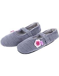 El calzado de zapatillas de mujer fralosha piso antideslizante (Rojo) (Rosa) XHcYAuUMy