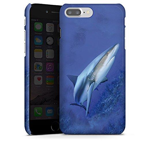 Apple iPhone X Silikon Hülle Case Schutzhülle Raubfisch Hai Weißer Hai Premium Case glänzend