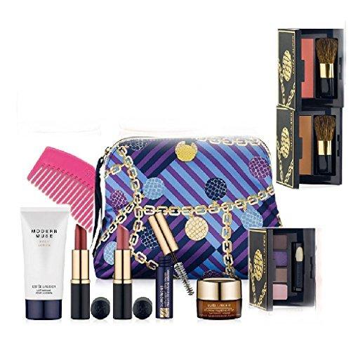 new-estee-lauder-macys-7-pcs-skin-care-makeup-gift-set-advanced-night-repair-mascara-lipstick-cosmet