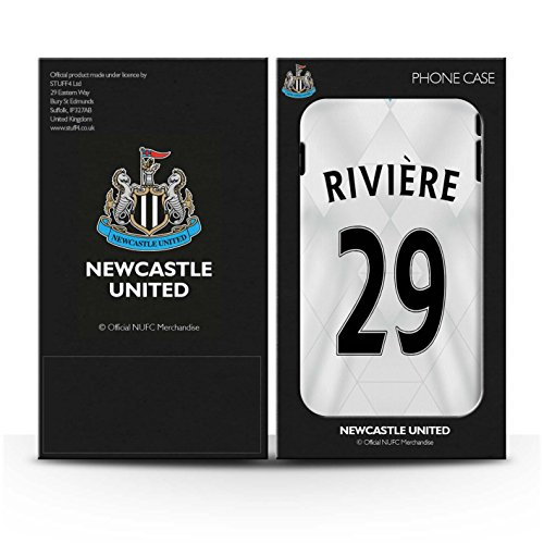 Offiziell Newcastle United FC Hülle / Matte Snap-On Case für Apple iPhone 6S+/Plus / Pack 29pcs Muster / NUFC Trikot Away 15/16 Kollektion Rivière