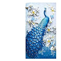 Diamond Embroidery Peacock 5D DIY Diamond Painting,Cross Stitch Diamond Mosaic for Home Decor