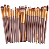 Pinceaux Maquillage, Makeup brushes set, Koly 20 Pcs Maquillage Outils Brush Set Maquillage ...