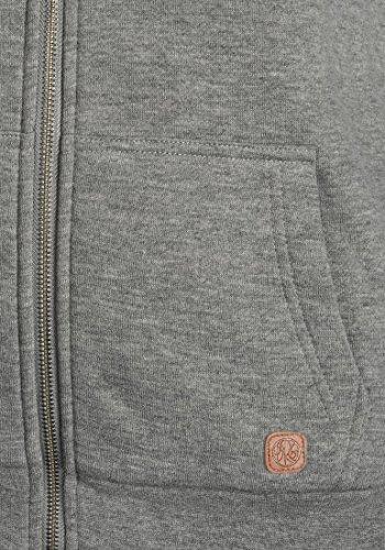 DESIRES Derby Pile - Sweat à capuche - Femme Grey Melange (8236)