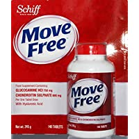 Schiff Move Free Glucosamine HCl & Chondroitin Sulphate 140 Tablets