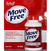 Schiff Move Free Glucosamine HCl & Chondroitin Sulphate 140 Tablets by Schiff