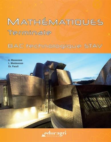 Mathématiques Tle Bac technologique STAV