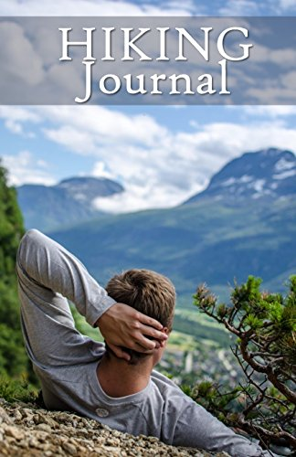 Hiking Journal: Hike Log Book - 50 Hikes - Compact Hiking Notebook (Outdoor Journal - Travelers Notebook -  for Boy Scouts or Girl Scouts and Hikers -  Summit (Summit Hat)