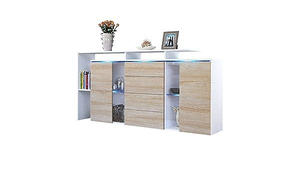 Credenza La Gi : Mobile credenza h cucina bagno bianco cuore legno shabby