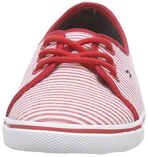 Tommy Hilfiger - S1285m-kesha 11d1, Scarpe da ginnastica Donna Rosso (Rot (TANGO RED 611))