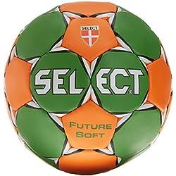 Select Future Soft - Balón de balonmano verde verde/naranja Talla:0