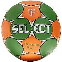 Select Future Soft - Balón de balonmano verde verde/naranja Talla:2
