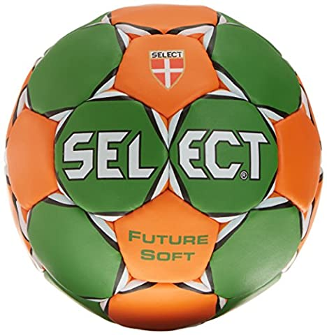 Select future soft ballon de handball 0 Vert - Vert/orange