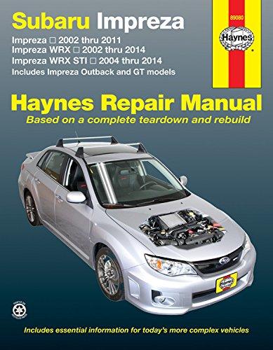 subaru-impreza-and-wrx-automotive-repair-manual-2002-to-2014-haynes-repair-manual-paperback