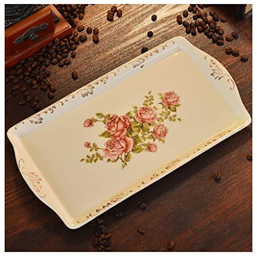 Hyvaluable piatto di frutta piatto di ceramica piatto di frutta piatto di pomeriggio piatto di snack piatto di frutta secca