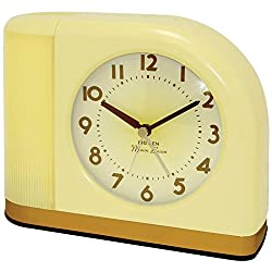 Westclox 1950 Big Ben Moonbeam Yellow Alarm Clock