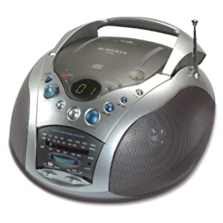 Roberts CD9959 Swallow LW/MW/FM Radio CD Player – Grey/Silver