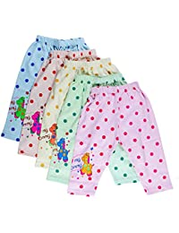 Littly Unisex Cotton Pyjama Bottom (Pack of 5)