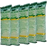 Agar Agar China Grass Strips (Mira Marine Product) Color :yellow,per Pack Of Weight: 50gm,pack Of 20