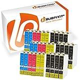 Bubprint 30 Druckerpatronen kompatibel für Epson T0711 T0712 T0713 T0714 für Stylus SX105 SX210 SX218 SX400 DX4000 DX4400 DX6000 DX6050 DX8450 BX300F