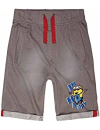 Minions Despicable Me Chicos Bermudas 2016 Collection - Gris