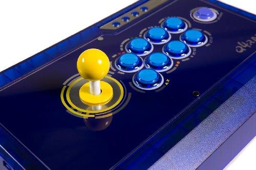 qanba Q4q4raf Ice Blau PS3& Xbox 360& PC Joystick (FightStick) (Ps3 2 Marvel Vs Capcom)