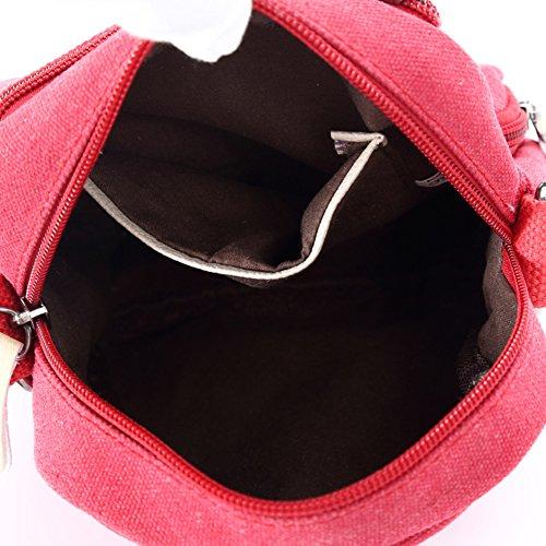 borsa a tracolla Ms./Messenger Bag/stoffa tempo libero/borse diagonali/borsa di tela-C A