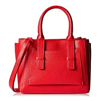 Call It Spring Satchel Bag for Women - Leather, Yboeria Red