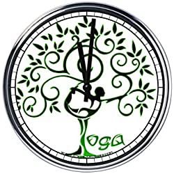 Reloj de pared Yoga 5
