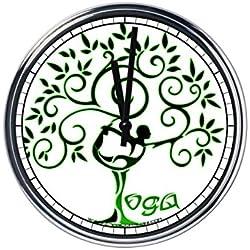 Reloj de pared Yoga 5