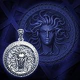 Wizard Work Talisman Amulette Gorgonéion ou Silver Shield Retribution