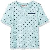 RED WAGON Jungen T-Shirt Nautical Mini Print Einfarbig, Blau (Multi), 110 (Herstellergröße: 5)
