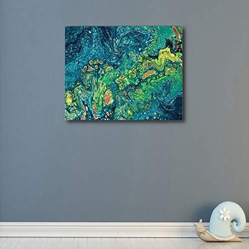 Battle of the peak Leinwand Gemälde Abstrakte Aquarell Poster und Drucke Vintage Wandkunst HD Leinwand Gemälde for Zuhause Wohnzimmer Dekoration Kein Rahmen Kein Rahmen (Size (Inch) : 30x24cm)