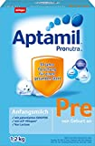 Aptamil Pronutra Pre Anfangsmilch, von Geburt an, 3er Pack (3 x 1.2 kg)