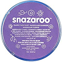 Snazaroo Face and Body Paint, 18 ml - Lilac (Individual Colour)