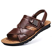 BAIF 2019 spring new men sandals men sandals and slippers big, black, 38/39/40/41/42/43/44