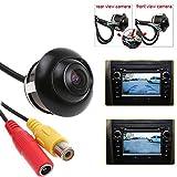(SUPER DEAL)360° Vorne Rückfahrkamera/Seite/Rücken Auto Kamera Wasserdicht Einparkhilfe Nachtsicht CCD Doppelte Switch Backup-Kamera
