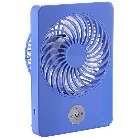 Batteria Ventilatore da tavolo Portatile Mini Ventola USB 3 Velocità